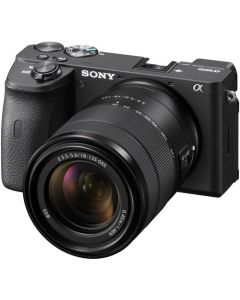 Sony Alpha a6600 Mirrorless Camera with 18-135mm Lens