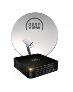 Openview Fully Installed Satellite Receiver & Dish
