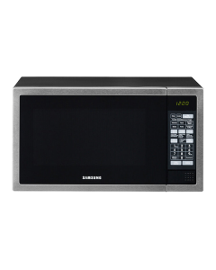 Samsung 40L Grill Microwave - Stainless Steel With Black Door GE614ST