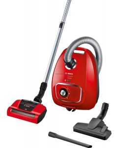 Bosch Serie 4 Bagged Vacuum Cleaner ProAnimal Red BGBS4PET1