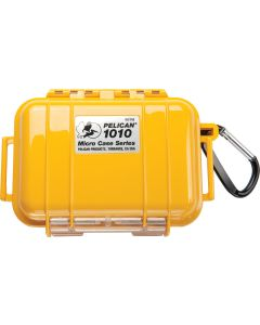 Pelican 1010 Case W/Liner -Wi-Yellow