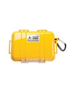 Pelican 1020 Case W/Liner -Wi- Yellow